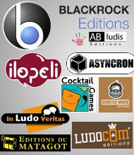 Notre sélection de jeux Blackrock Editions